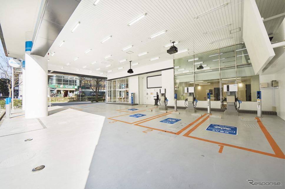 Delta EV Charging Station《写真提供 デルタ電子》