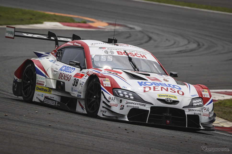 GT500予選3位の#39 DENSO KOBELCO SARD GR Supra《写真撮影 益田和久》