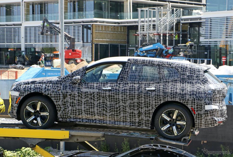 BMW iX5(仮)プロトタイプのスクープ写真《APOLLO NEWS SERVICE》