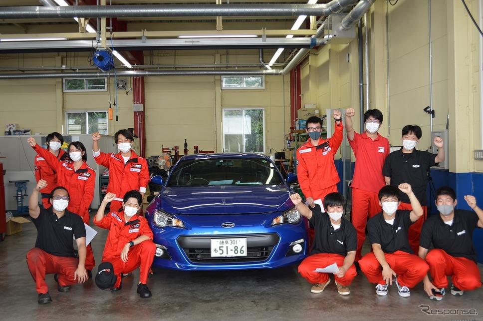 NACラリーチャレンジ《写真提供 中日本自動車短期大学》
