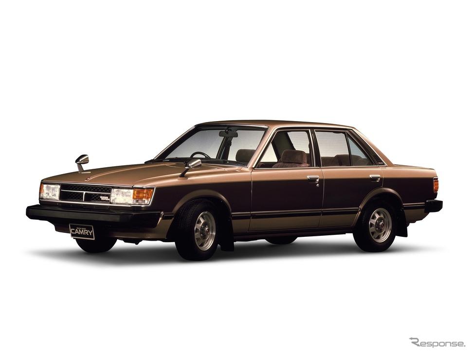 初代トヨタ・セリカカムリ(1980年)《写真提供 トヨタ自動車》