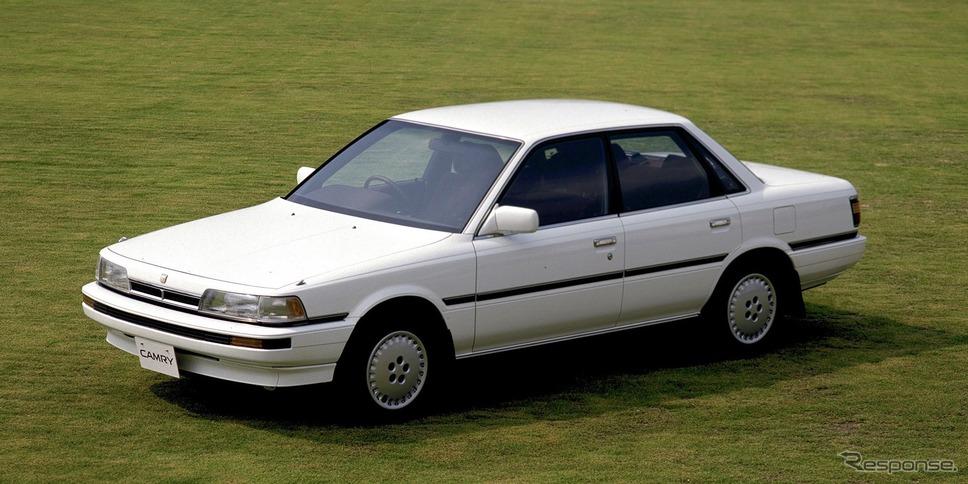 3代目トヨタ・カムリ(1986年)《写真提供 トヨタ自動車》