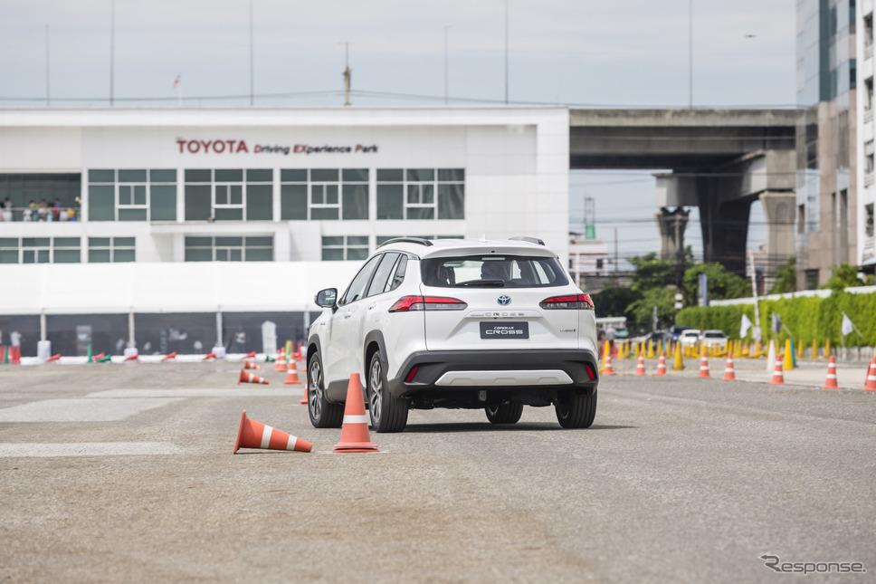 トヨタ・カローラクロス(試乗イベント)《photo by Toyota》