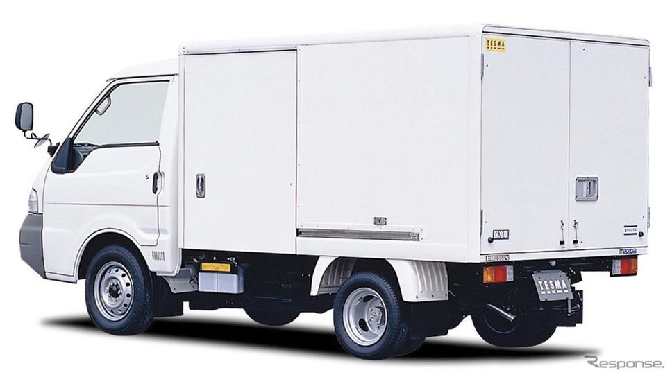 マツダ・ボンゴトラック、保冷車(2000年)《写真提供 マツダ》