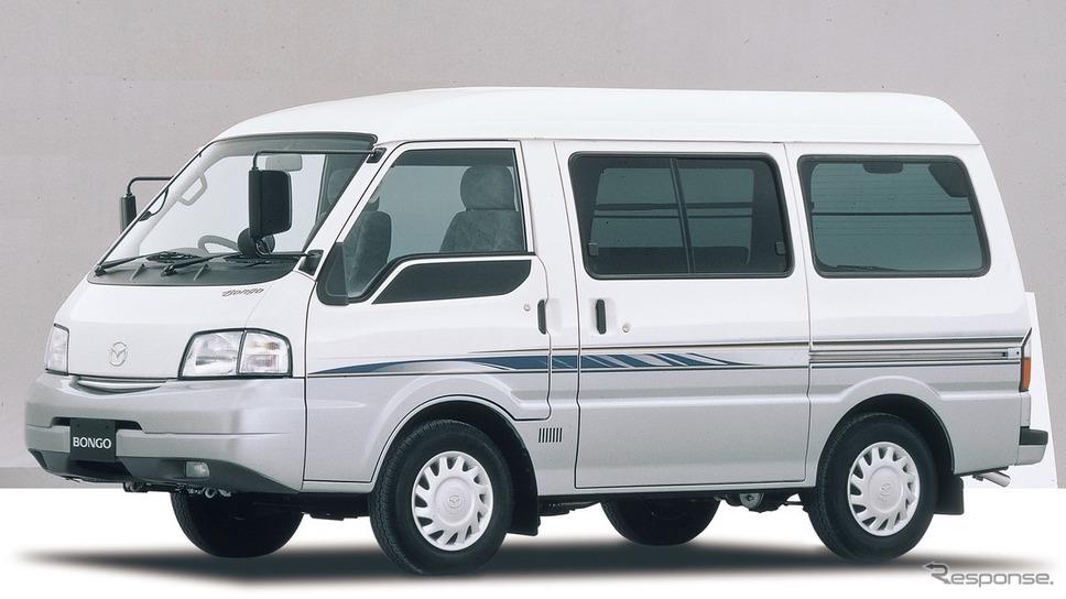 4代目は1999年に登場した。写真はマツダ・ボンゴバン、GLスーパー(2000年)。《写真提供 マツダ》