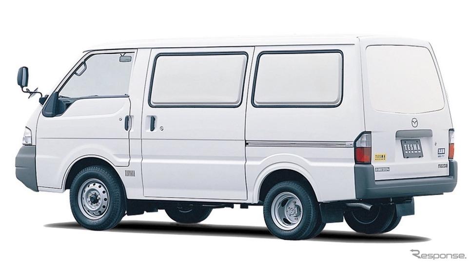 マツダ・ボンゴバン、冷凍車(2000年)《写真提供 マツダ》