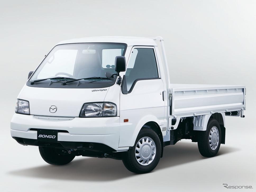 マツダ・ボンゴトラック、DX、2WD、5EC-AT、ロングボディ(2016年)《写真提供 マツダ》