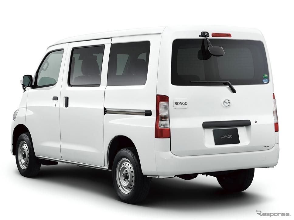 マツダ・ボンゴバン、DX、4WD(2020年)《写真提供 マツダ》