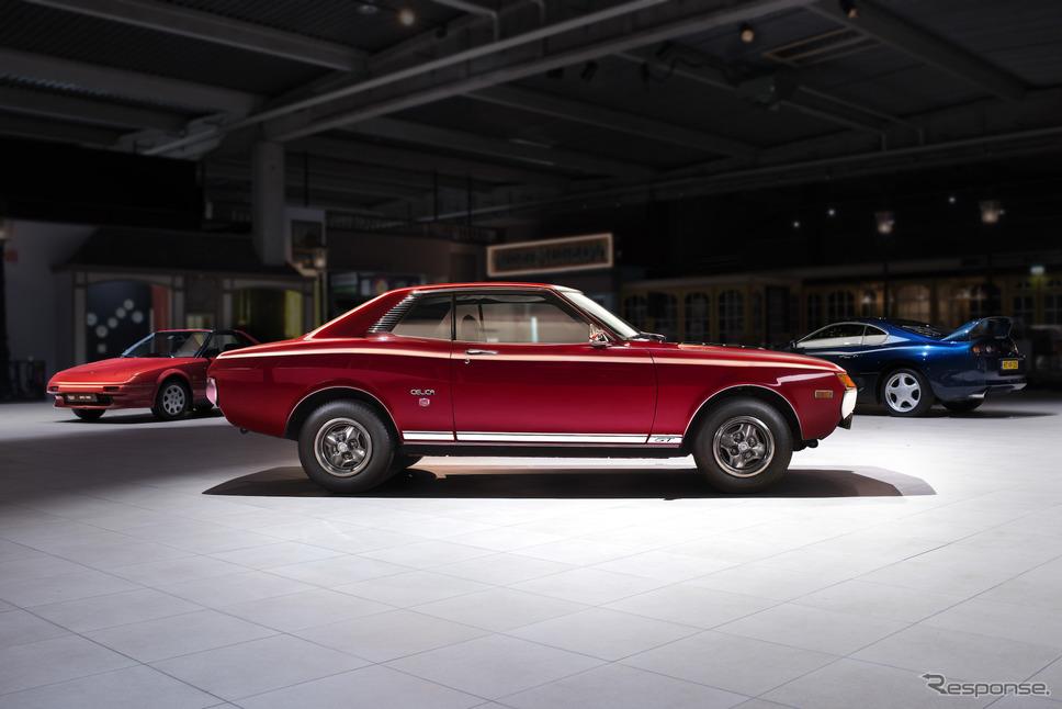 トヨタ・セリカ欧州仕様(1974年)《photo by Toyota》