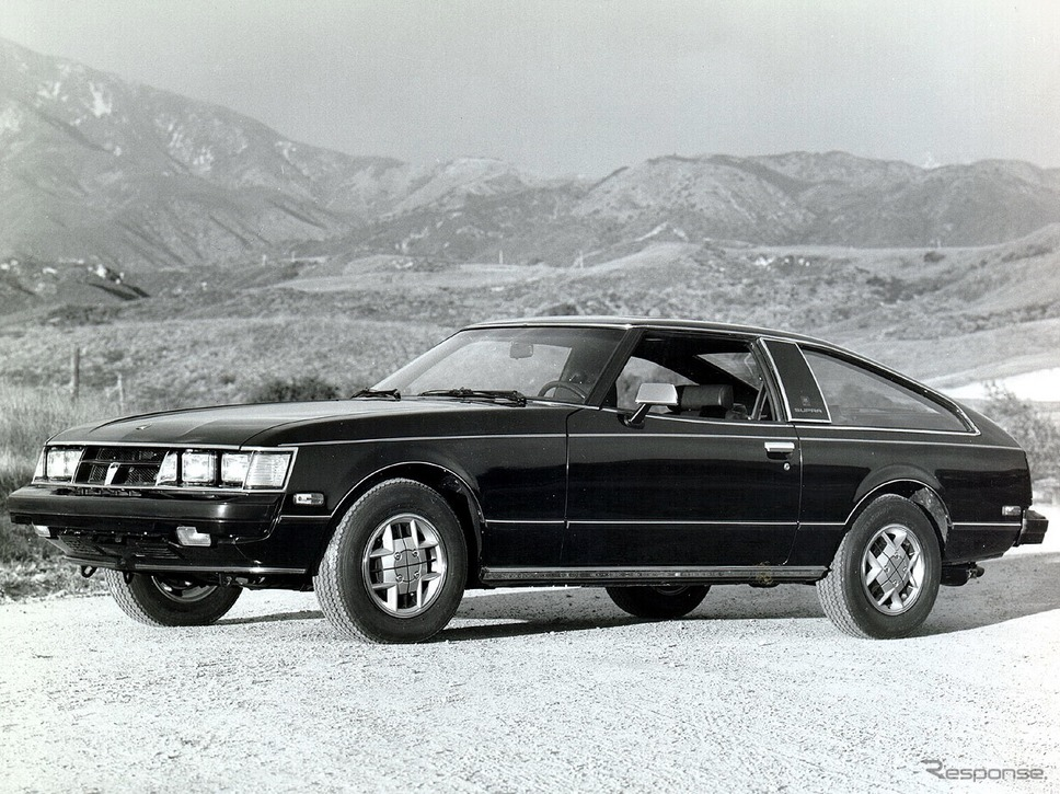 トヨタ・セリカスープラ(1976年型)。北米で「スープラ」、日本で「XX」のサブネームがついた高性能派生車。《photo by Toyota》