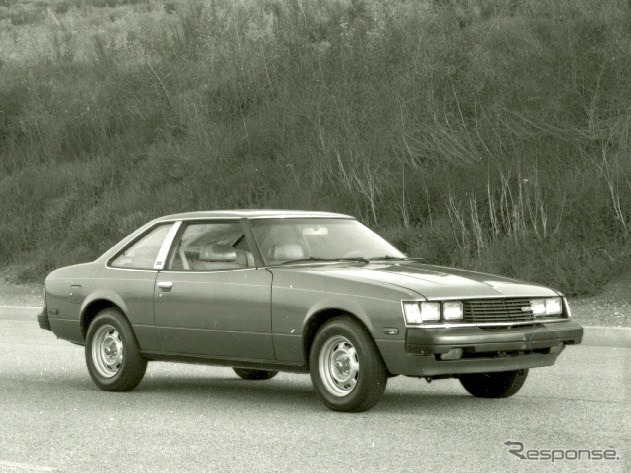 トヨタ・セリカ北米仕様(1980年型)《photo by Toyota》