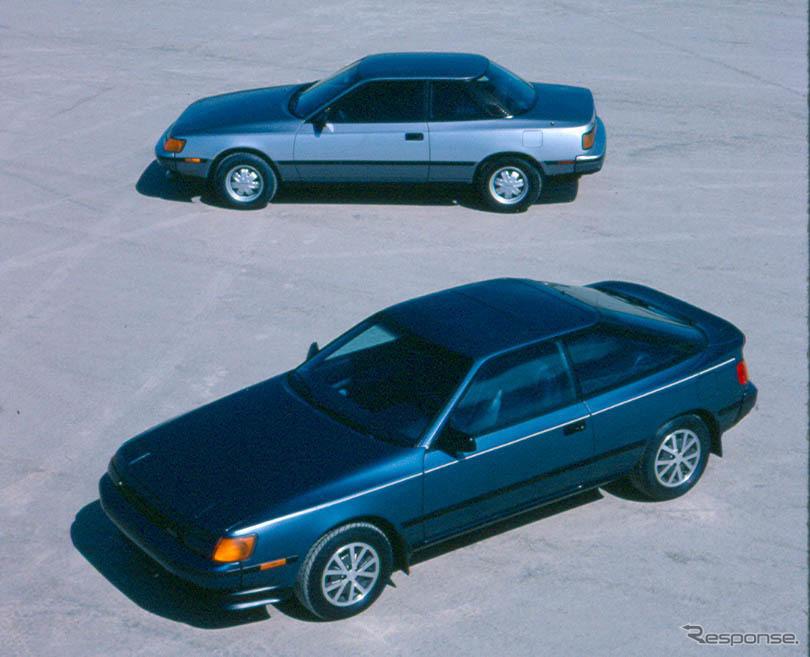 トヨタ・セリカ北米仕様(1986年型)。ノッチバッククーペは、日本では若干の仕様変更の上、コロナGTとして販売された。《photo by Toyota》