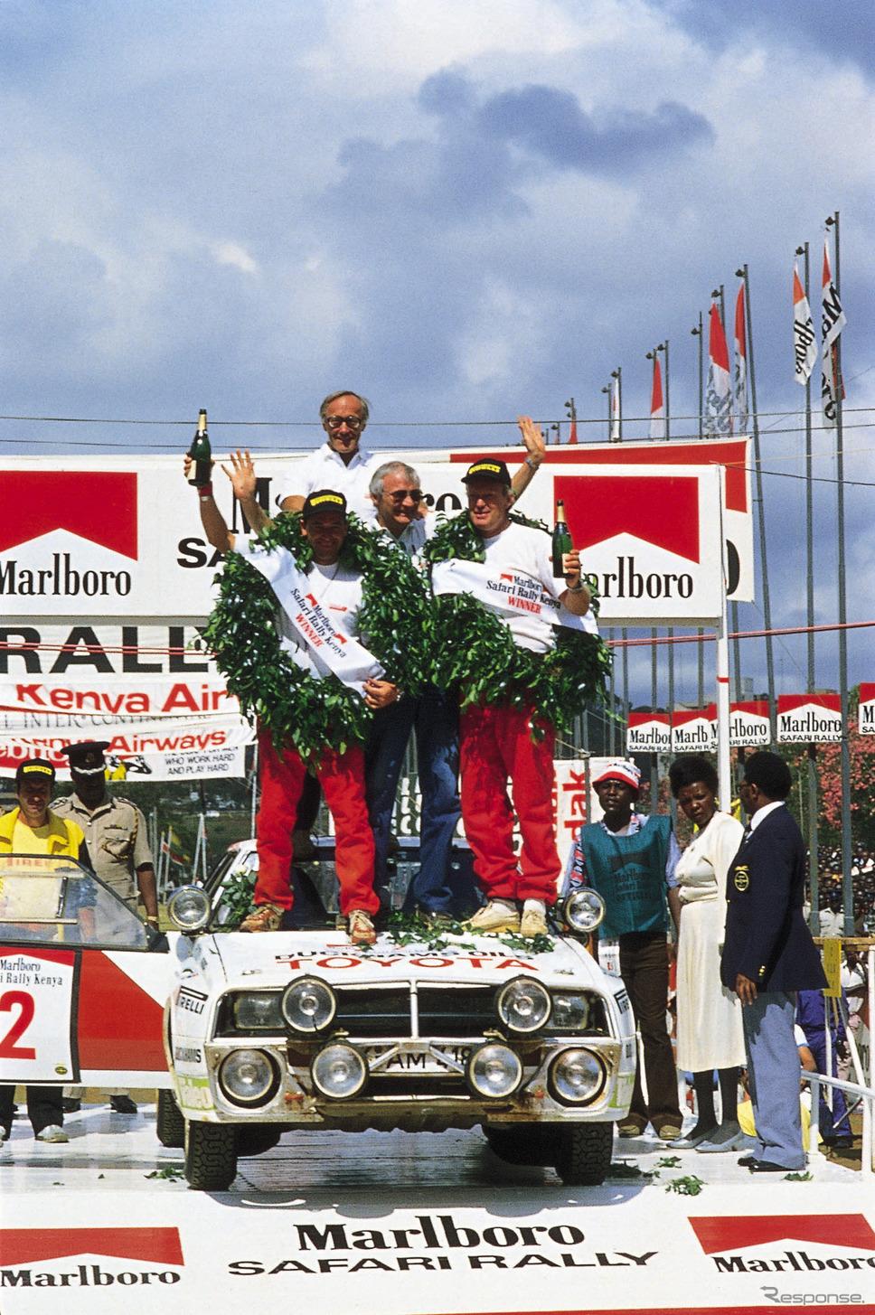 トヨタ・セリカWRC(1986年サファリラリー)《photo by Toyota》