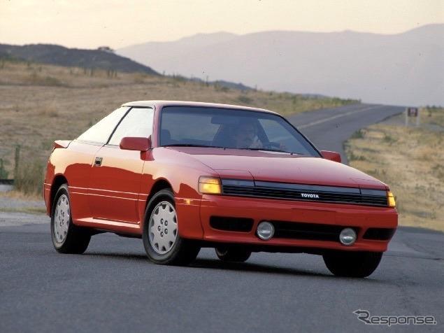 トヨタ・セリカ北米仕様(1989年型)《photo by Toyota》
