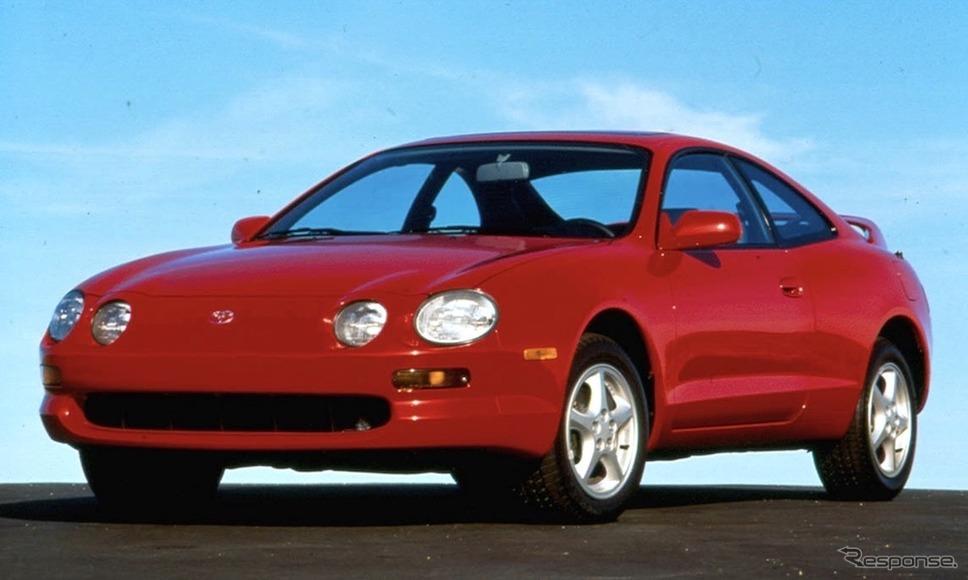 トヨタ・セリカ北米仕様(1994年型)《photo by Toyota》