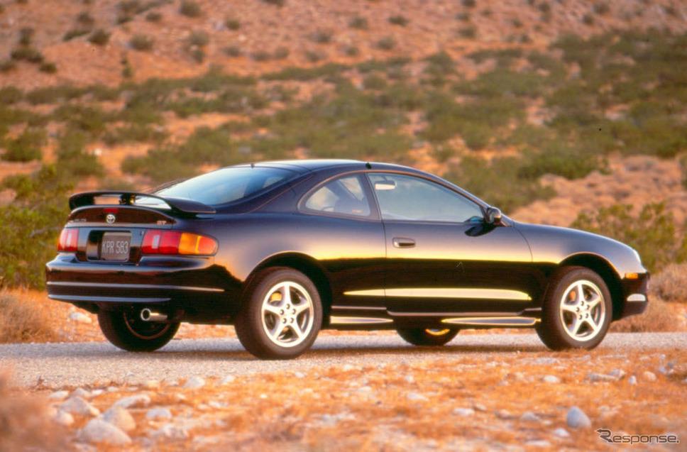 トヨタ・セリカ北米仕様(1997年型)《photo by Toyota》
