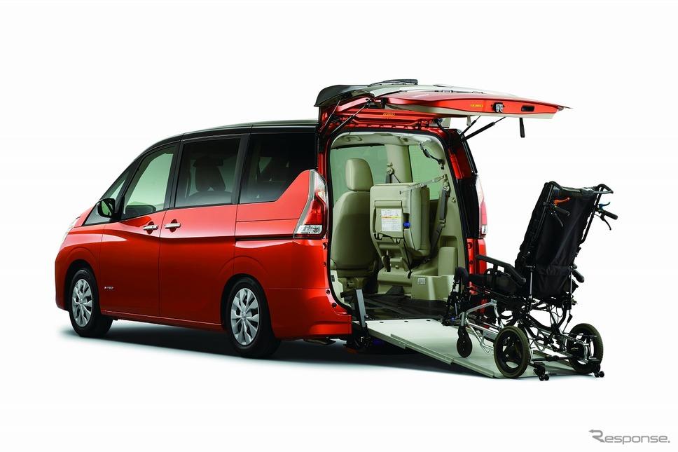日産 セレナ チェアキャブ スロープタイプ《写真提供 日産自動車》