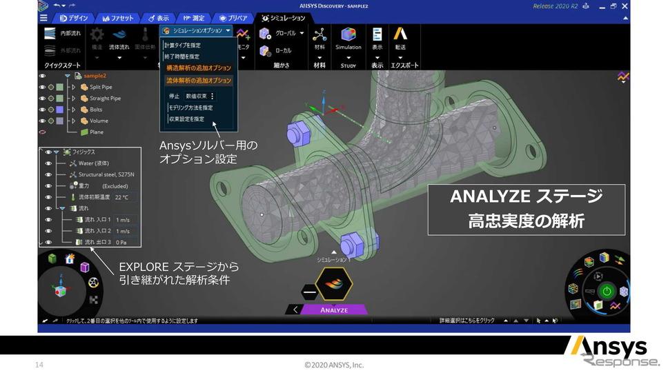 アンシス・ジャパン オンラインプレゼンテーション《資料:アンシス・ジャパン》