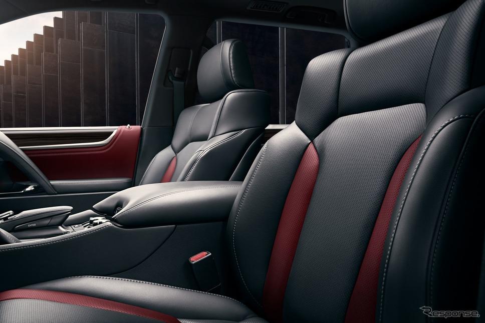 レクサス LX 570 の2021年モデル(米国仕様)《photo by Lexus》