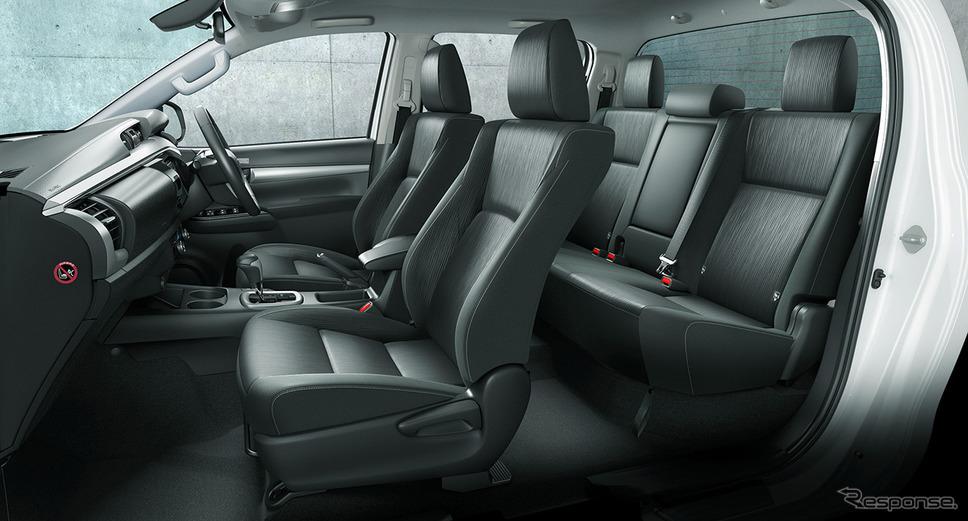 トヨタ ハイラックス 改良新型(Z)《写真提供 トヨタ自動車》
