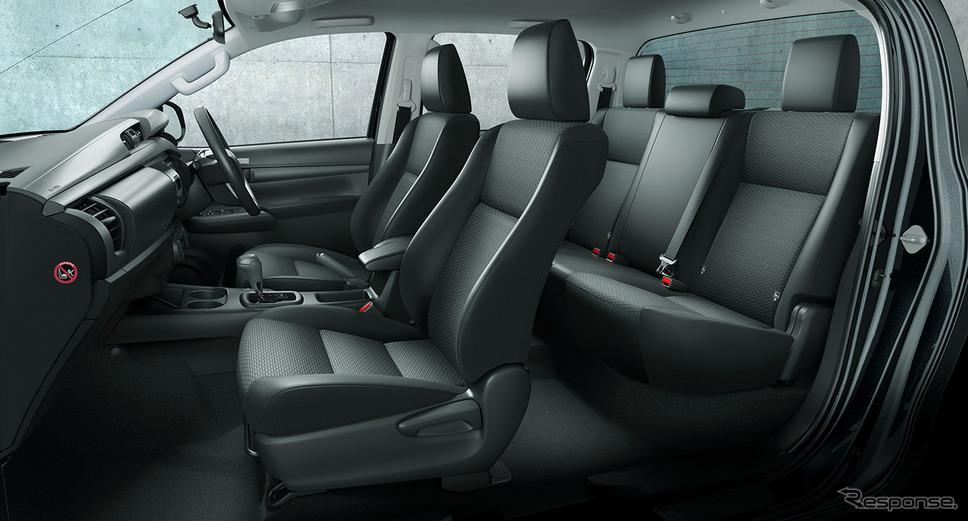 トヨタ ハイラックス 改良新型(X)《写真提供 トヨタ自動車》