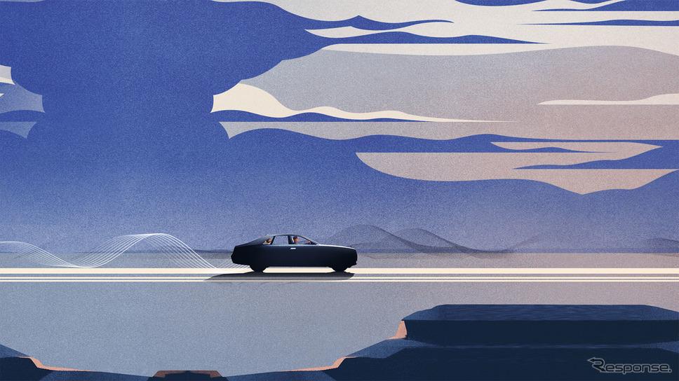 ロールスロイス・ゴースト 次期型のティザーイメージ《photo by Rolls-Royce》