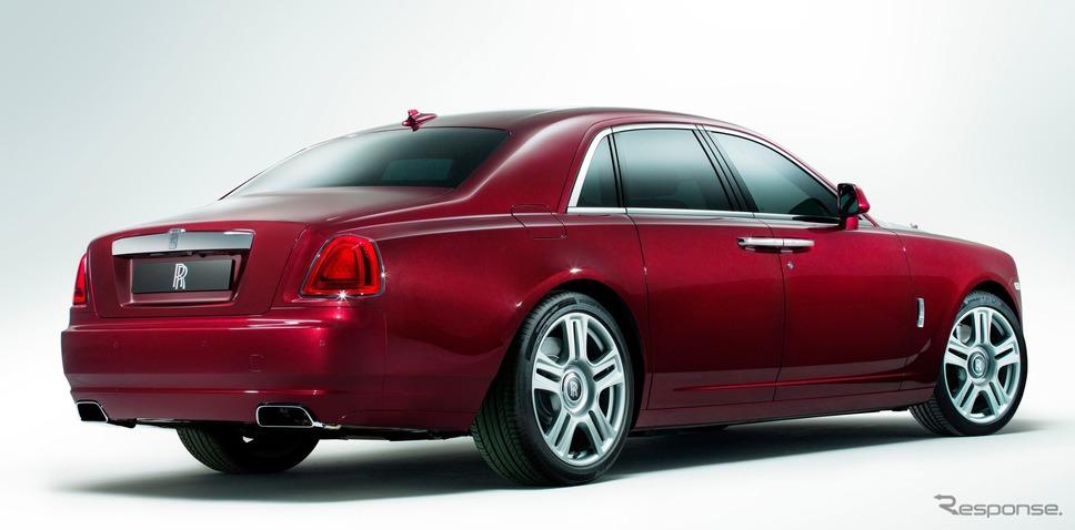 ロールスロイス・ゴースト 従来型(参考)《photo by Rolls-Royce》