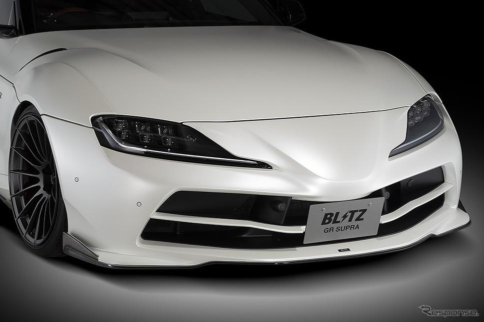 ブリッツ・エアロスピード R コンセプト for SUPRA フロントバンパースポイラーカーボン《写真提供 ブリッツ》