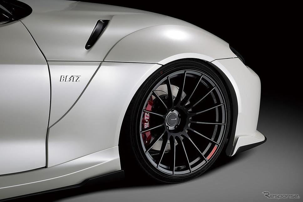 ブリッツ・エアロスピード R コンセプト for SUPRA フロントフェンダー《写真提供 ブリッツ》