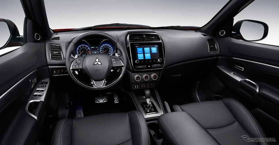 三菱アウトランダー・スポーツ(RVRに相当)の2020年型(参考)《photo by Mitsubishi Motors》