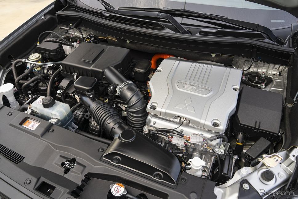 三菱 アウトランダー PHEV(米国仕様)《photo by Mitsubishi Motors》