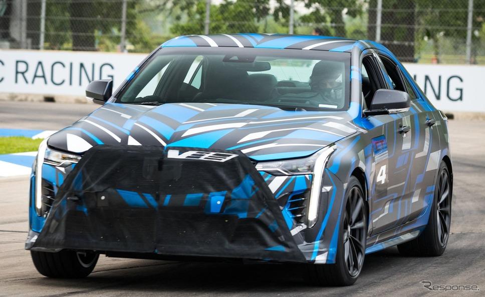 キャデラック CT4-V ブラックウィング の開発プロトタイプ《photo by Cadillac》