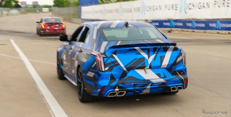 キャデラック CT5-V ブラックウィング と CT4-V ブラックウィング の開発プロトタイプ《photo by Cadillac》