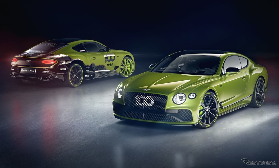 ベントレー・パイクスピーク・コンチネンタル GT《photo by Bentley》