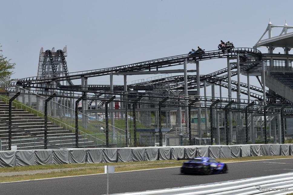 GPフィールドのGP RACERSは搭乗可能《写真撮影 雪岡直樹》