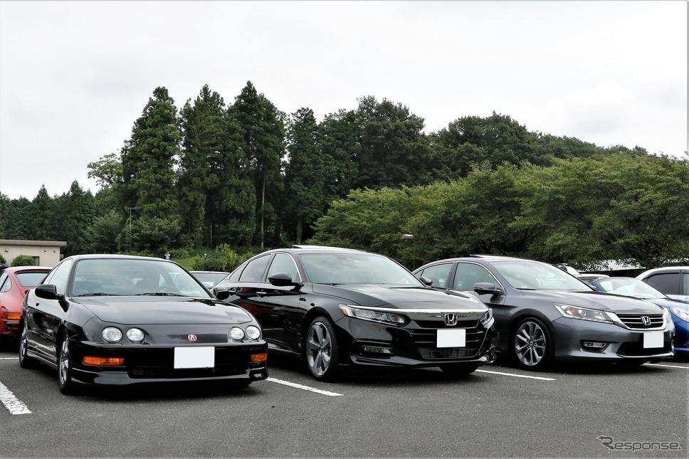 ホンダインテグラやアコードだが、実は3台とも左ハンドル仕様車《写真撮影 内田俊一》