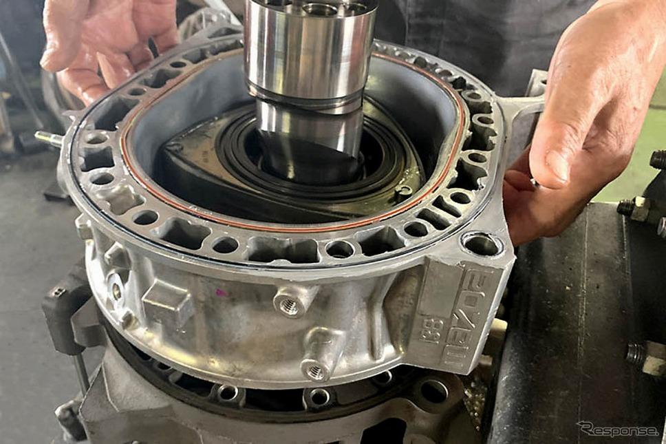 オートエクゼの『RX-7』/『RX-8』用ファインチューニングリビルトエンジン《写真提供 オートエクゼ》