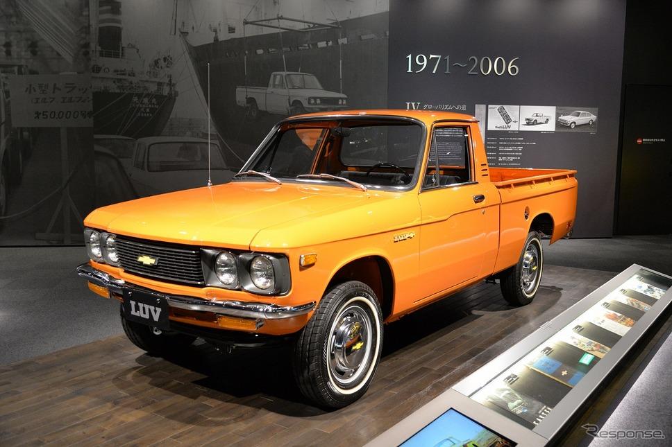 シボレー LUV(いすゞファスタートラックのリバッジモデル 1972年)《写真撮影 嶽宮三郎》