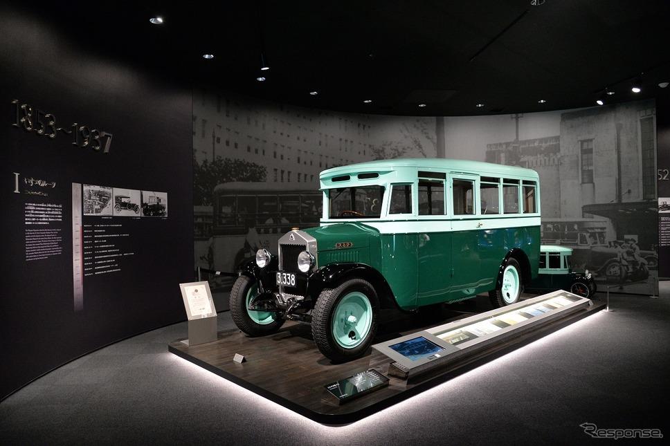 スミダM型バス(1929年)《写真撮影 嶽宮三郎》