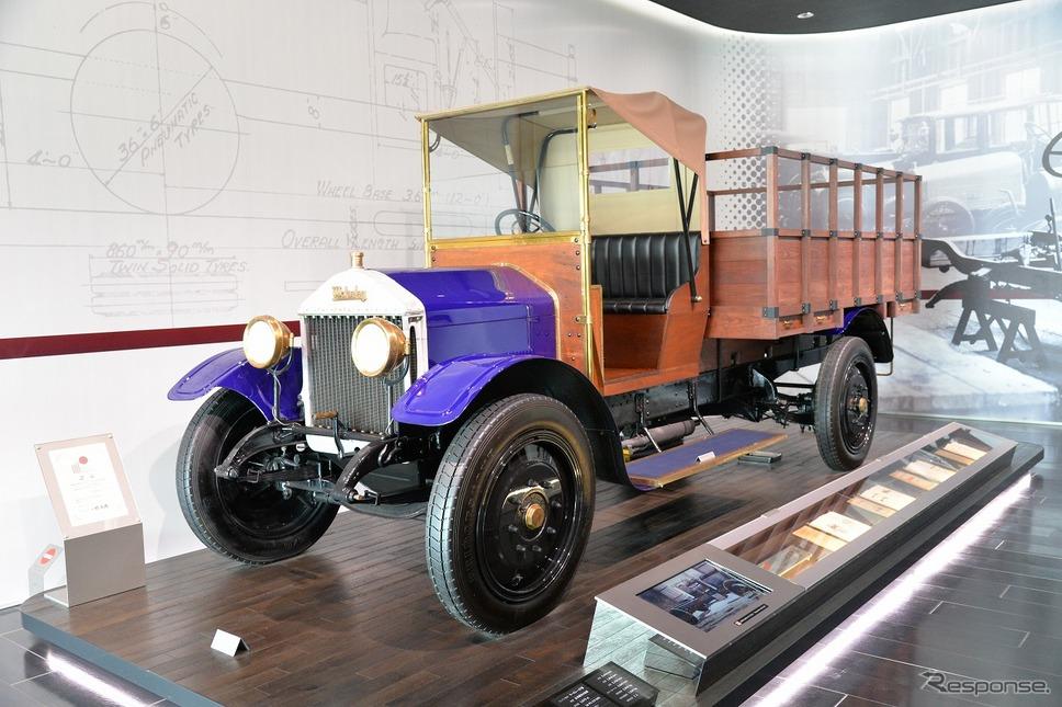 ウーズレーCP型トラック(1924年)《写真撮影 嶽宮三郎》