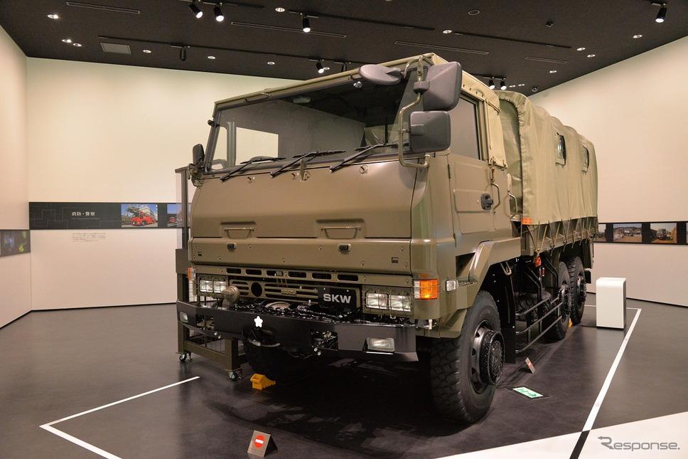 陸上自衛隊 73式大型トラック SKW《写真撮影 嶽宮三郎》