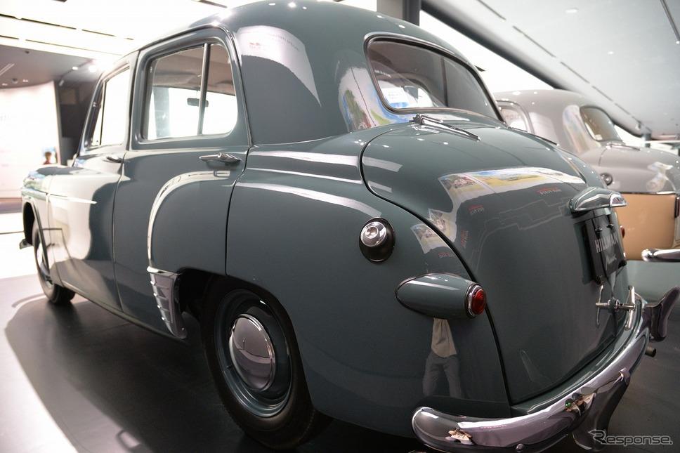 ヒルマン・ミンクスPH10型(1953年)《写真撮影 嶽宮三郎》