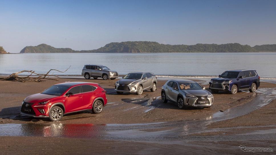 レクサスのSUV(参考)《photo by Lexus》