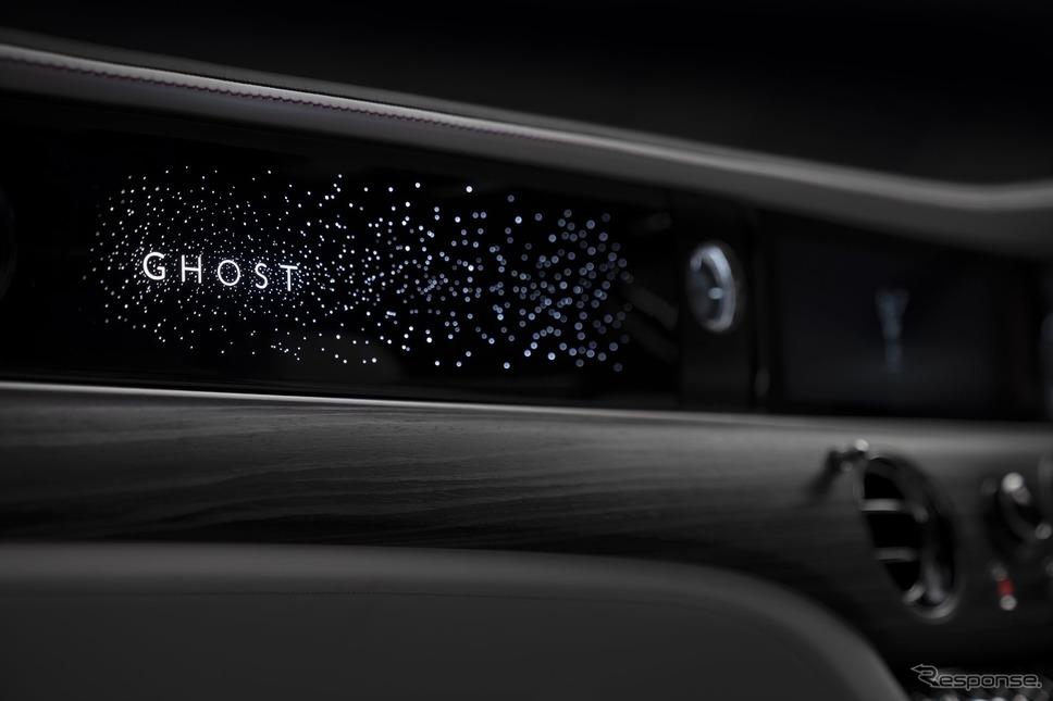 ロールスロイス・ゴースト 次期型の「イルミネーテッド・フェイシア」《photo by Rolls-Royce》