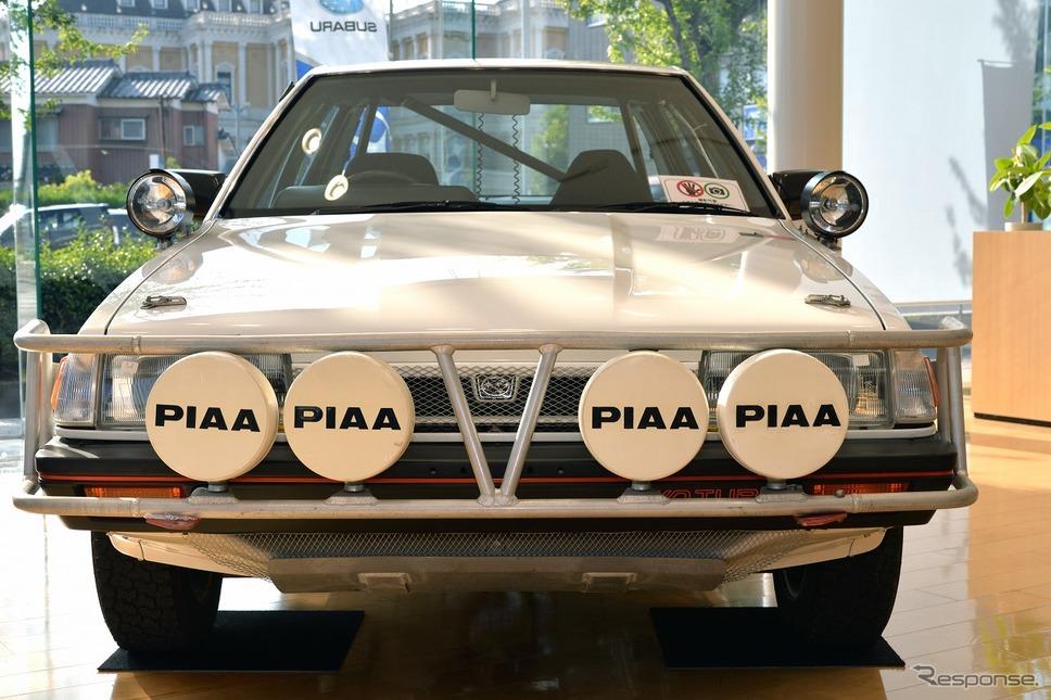 レオーネ(AA5) サファリラリー仕様車(1988年)《写真撮影 嶽宮三郎》