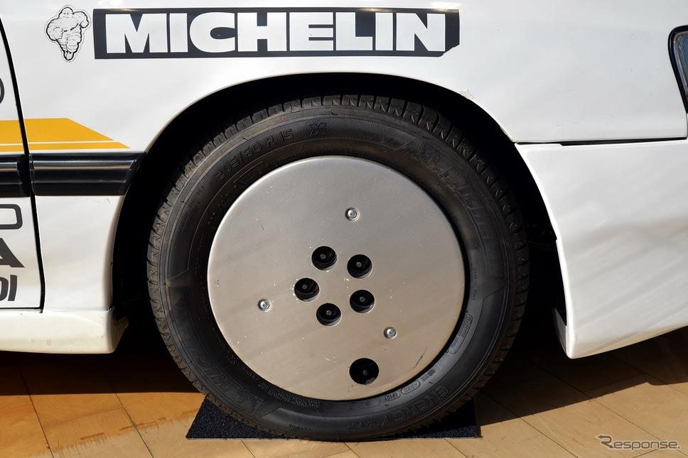 レガシィ(BC5) 10万km速度記録達成車(1989年)《写真撮影 嶽宮三郎》