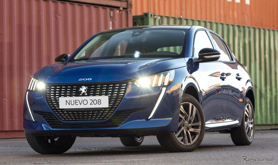 プジョー208新型《photo by Peugeot》