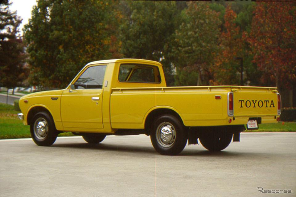 トヨタ・ハイラックス2代目(1972年〜)《写真提供 トヨタ自動車》
