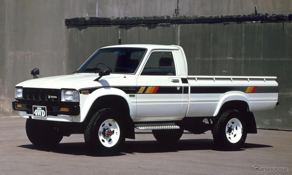 トヨタ・ハイラックス3代目(1978年〜)《写真提供 トヨタ自動車》