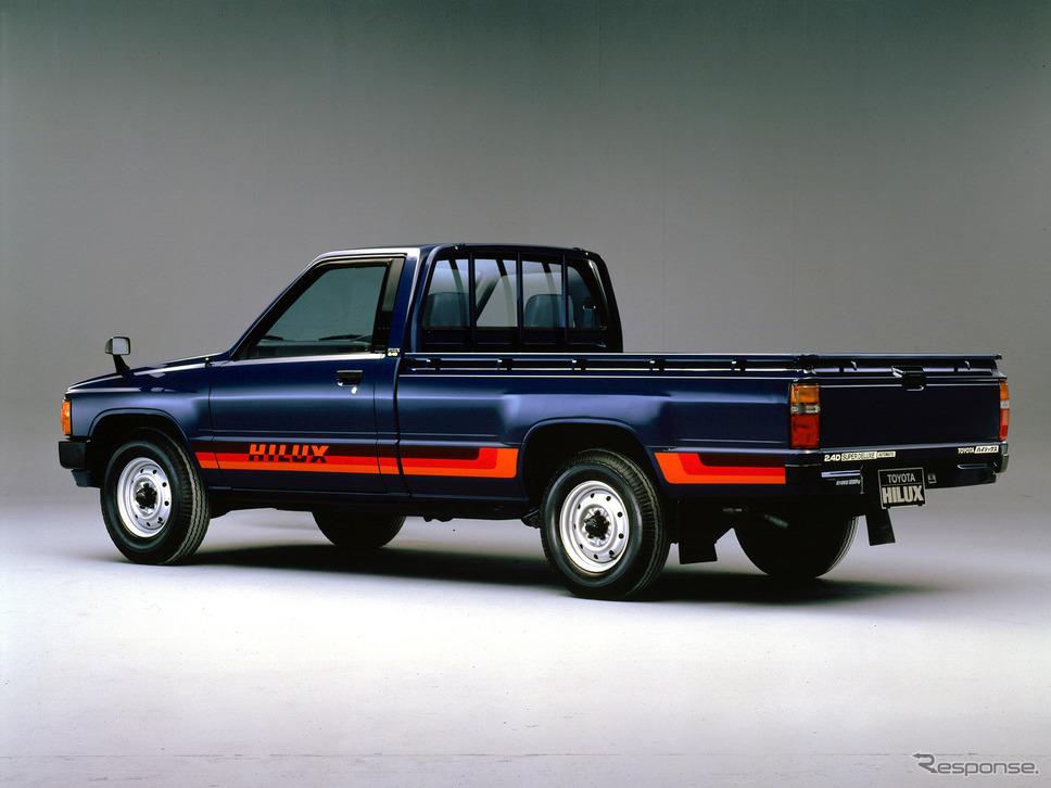 トヨタ・ハイラックス4代目(1983年〜)《写真提供 トヨタ自動車》